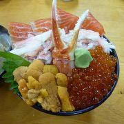 海鮮丼の種類が豊富