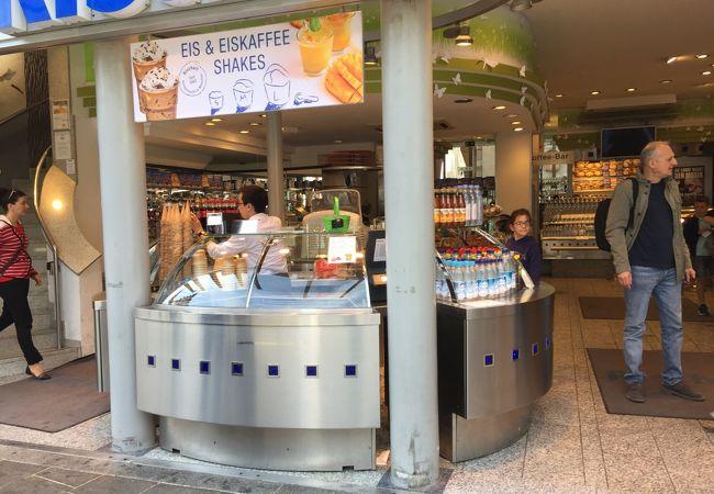 マリエンプラッツのカフェ
