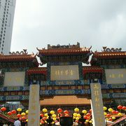 香港のアクセス良しなパワースポット