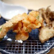 コスパの良い江戸前天ぷら@アークヒルズ