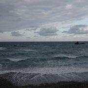 海のパワーを感じる