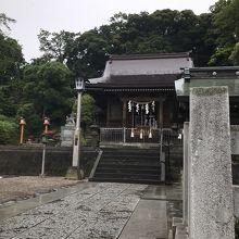 普段の神社