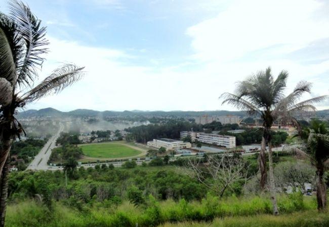 カピーロの丘からの景観