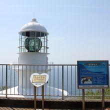室戸岬の灯台と展望台