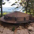 写真:佐世保要塞丸出山観測所跡