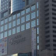 八王子駅北口のショッピングセンター