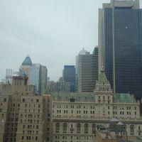 23階の窓からの眺め。