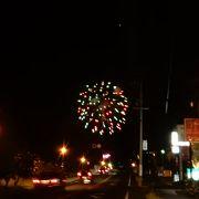 の前夜祭的な「サマーナイト花火」