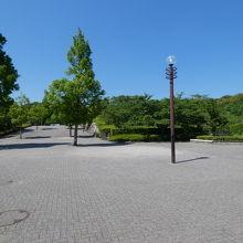公園内はひろいです