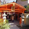 住宅街にある小さな神社