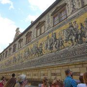 歴代君主の壁画