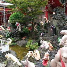 武蔵小杉 稲荷神社