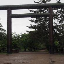 弘前公園内の北側に