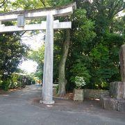 静かな宮崎県護国神社