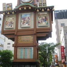 人形町商店街からくり櫓