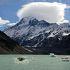 山・氷河・湖 大自然いっぱいのエリアです。。。
