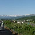 高速道路を降りずに宿泊できる、新井PAに隣接する道の駅あらいの中にあるホテル