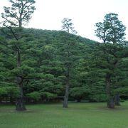 栗林公園の借景