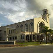 グアムの大聖堂です!