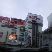 駅前の複合ビルです