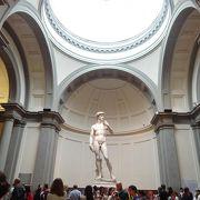 ダヴィデ像がこんなに大きいとは