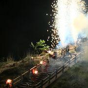 【地獄の谷の鬼花火2018】