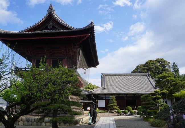 群を抜いて一番大きなお寺