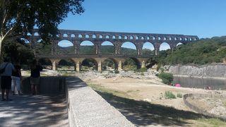ローマ時代にこんな橋が作れたなんて…圧倒。