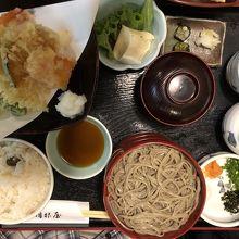 天ぷら割子定食