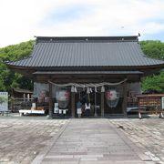 三神を祭った神社です