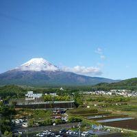 部屋から見える富士山です