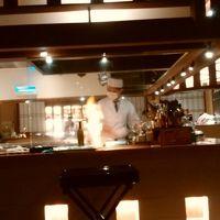 食事処の一つである四季彩ダイニング美厨。オープンキッチンです