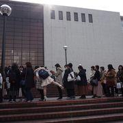 神奈川県民に馴染み深いホール