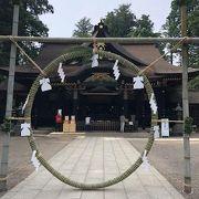 鹿島神宮に並ぶ広大さ