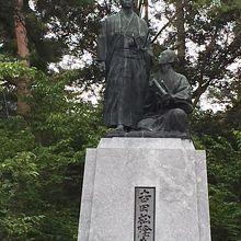 吉田松陰先生銅像