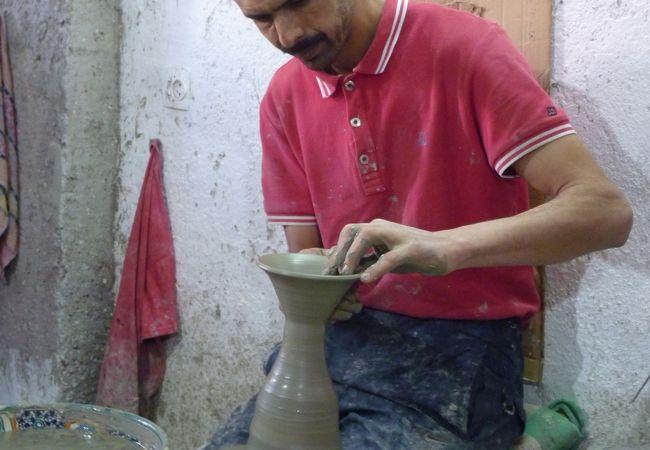 陶器工場見学