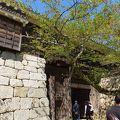 写真:松山城 太鼓門
