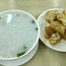 ピータンポーク粥