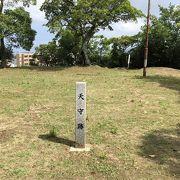 日本100名城の徳島城、蜂須賀正勝の居城、当時の建物はなく、石垣、礎石が残っているだけ