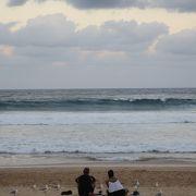 フェリーで簡単に行ける便利なビーチ