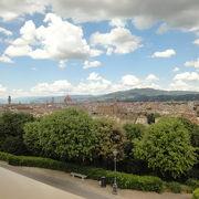 フィレンツェの有名な広場