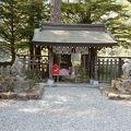 穂高岳のふもとにある神聖さを感じる神社