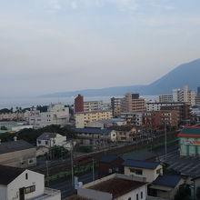 別府湾やまわりの山々が見え、眺望は良かったです。
