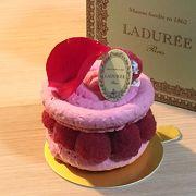 薔薇のケーキ