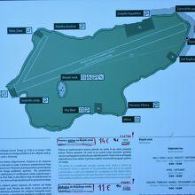 ブレッド湖地図