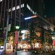 ウェスティンホテル仙台やショップ、オフィスなどが一緒になった複合施設。