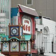 人形町通りに在る