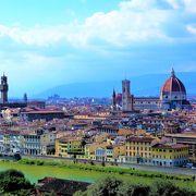 フィレンツェ観光の出発点