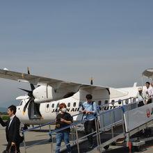 新型の航空機で乗り心地も良いですよ!