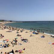 バルセロナのビーチ